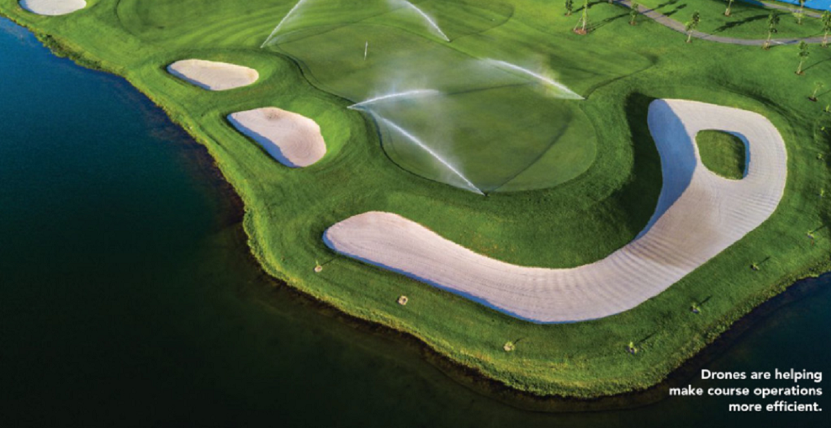 Trend: Drones Give Golf Courses An Eye In The Sky